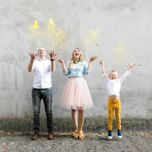 Sander Eline Noah van der Woude Wood and Gems Utrecht confetti reviewblog Happy Family