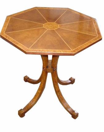 Mahogany Regency Style Lamp Table