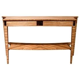 37024Z Zebrano Side Table