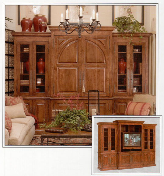 Large Entertainment Cabinet