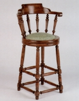 English Style Jacobean Barstool