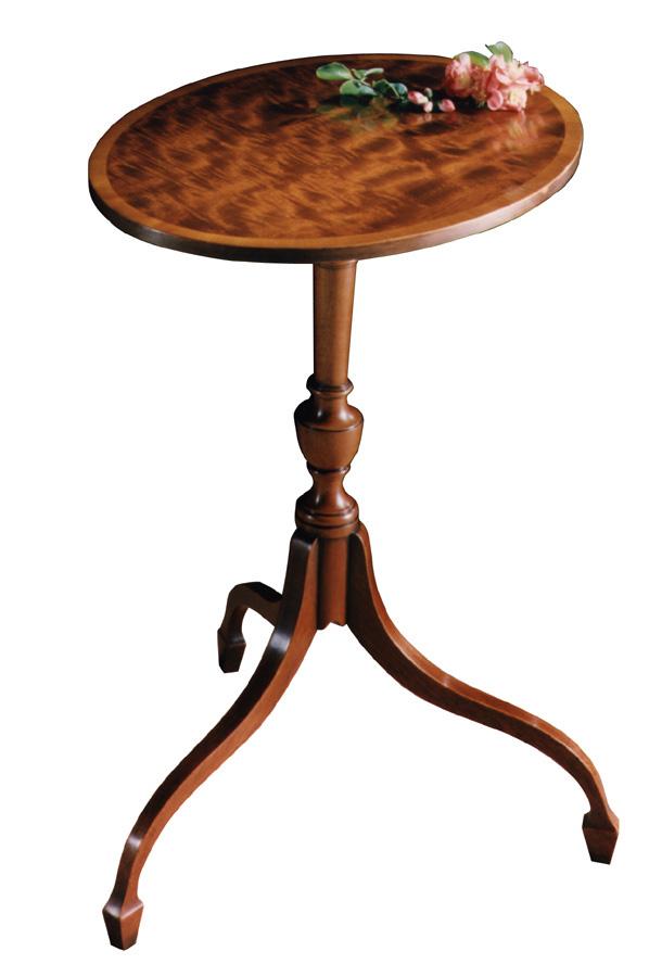 Mahogany Sheraton Style Wine Table.