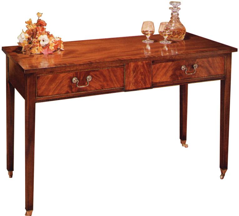 Georgian Style Mahogany Side Table