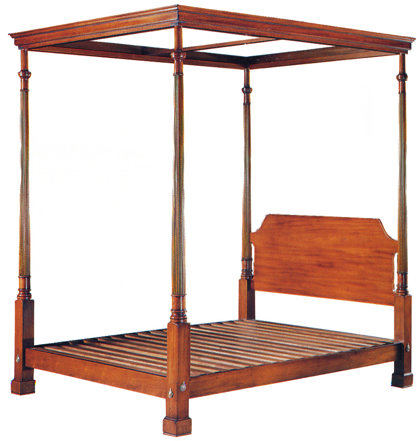 Mahogany Four Poster Bed
