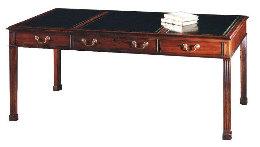 Mahogany Georgian Style Writing Table.