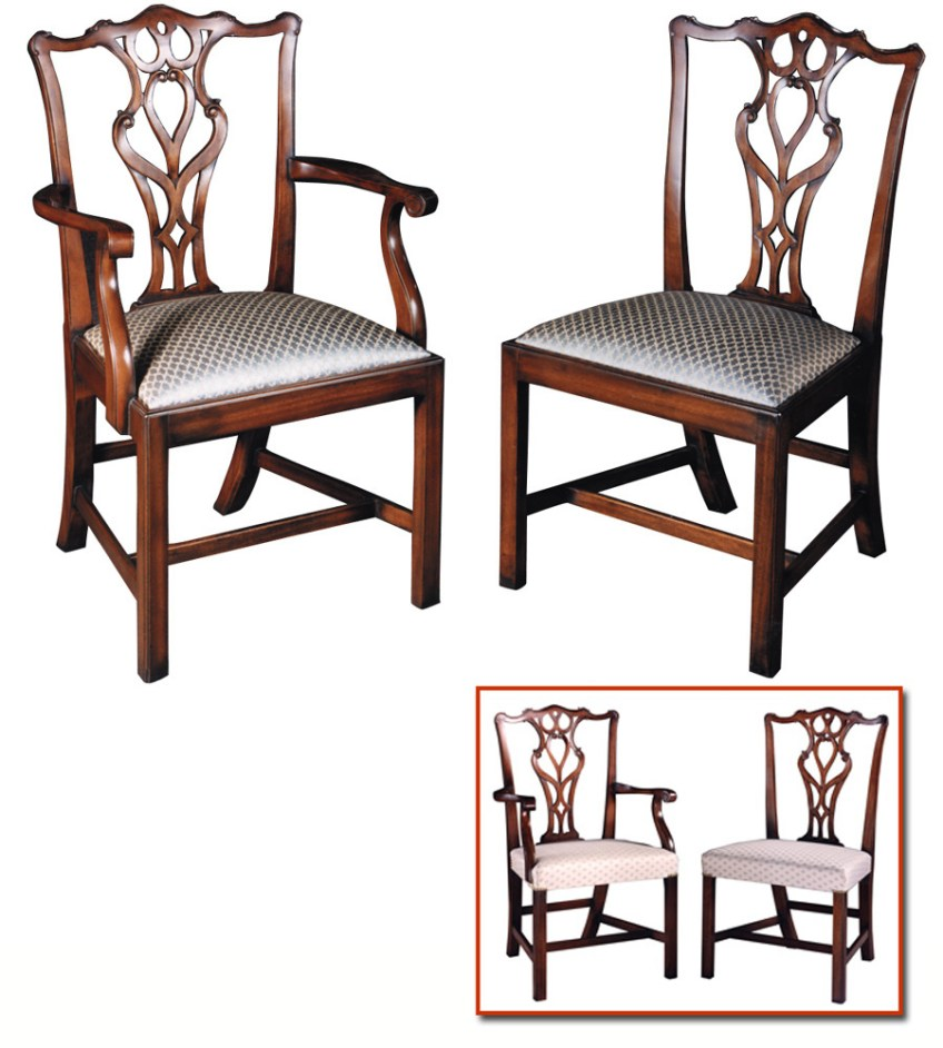 Georgian Style Mahogany Chair.