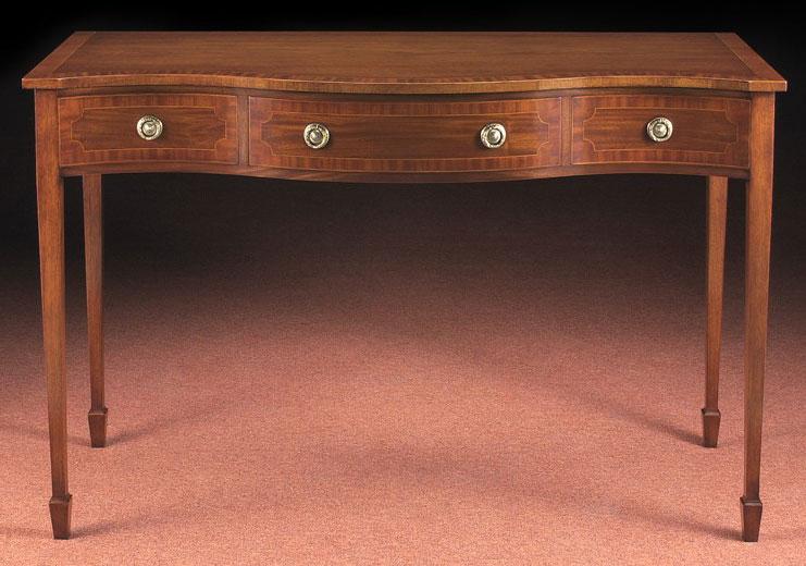 Mahogany Sheraton Style Side Table.