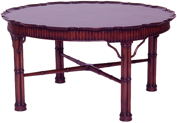 Georgian Style Round Coffee Table.
