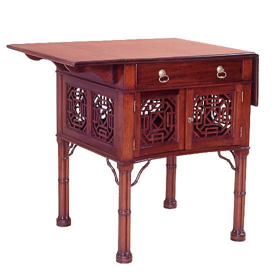Mahogany Chippendale Style Pembroke Table.