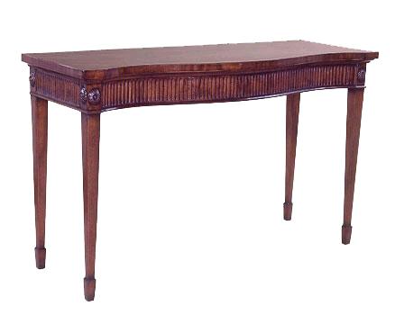 George III style Mahogany Side Table.