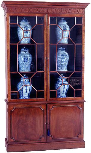 Mahogany George III Mahogany Display Cabinet