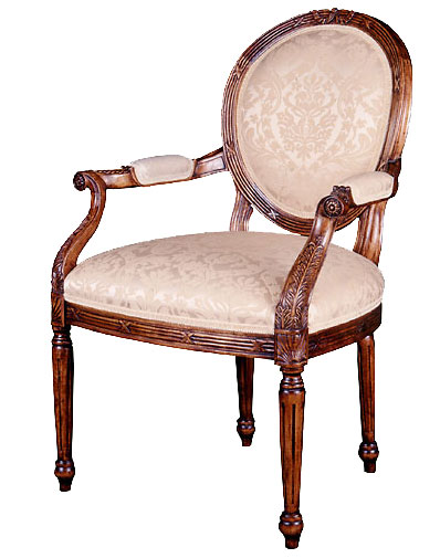 George III Style Maple Chair.