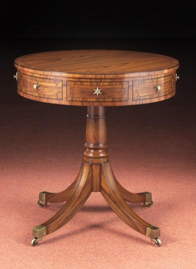 RD-685 Rose. Drum Table