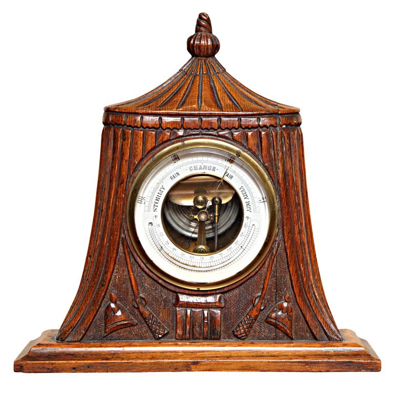 Rare 19th Century Military Barometer