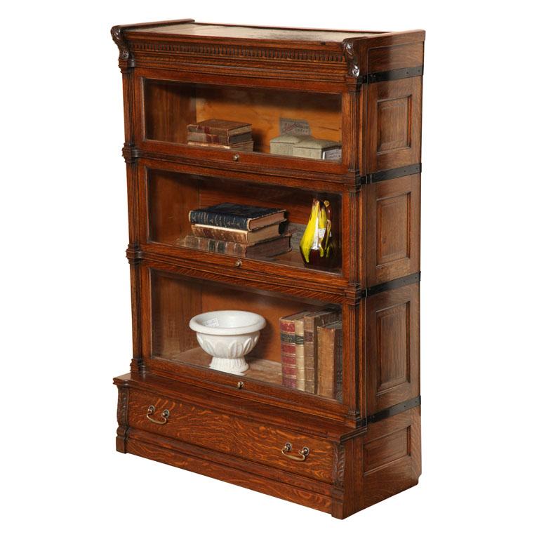 Old Oak Bookcase