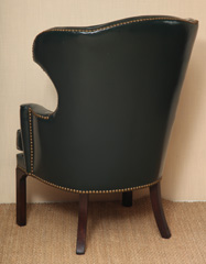 WU-307 Porter Wing Chair - Back
