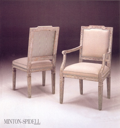 Italian Louis XVI Dining Side Chair