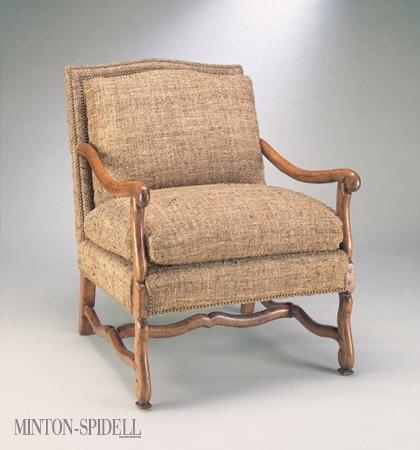 Louis XIII Muttonbone Lounge Chair