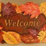 welcome members fall theme