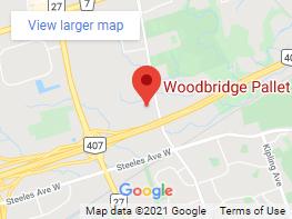 Wood Bridge Pallet