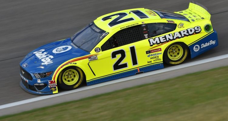 #21: Matt DiBenedetto, Wood Brothers Racing, Menards/Dutch Boy Ford Mustang