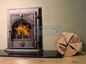 Lilliput 45kW Inset Stove  Small Multifuel Stoves | Woodburning Stoves, Multifuel Stoves, Log
