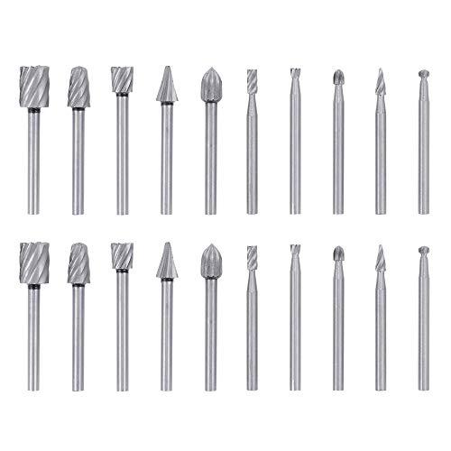 High Speed Cutter Bit Set For Dremel Rotary Tool Die Grinder HSS 6 Piece HO3