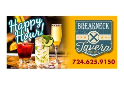 Breakneck Tavern Digital Billboards