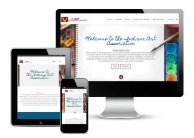 Indiana Art Association Website