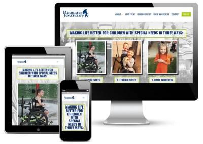 Reagan's Journey Website Development