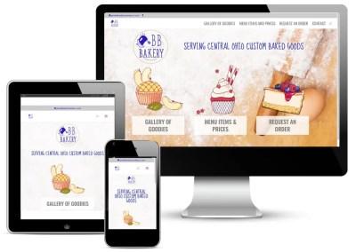 BB Bakery Website Design