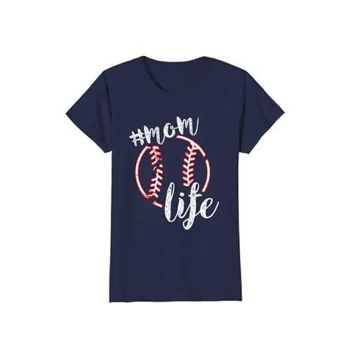 Baseball Mom Life T-shirts