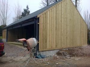 Barn Cladding In Shillingford Devon The Wooden Workshop