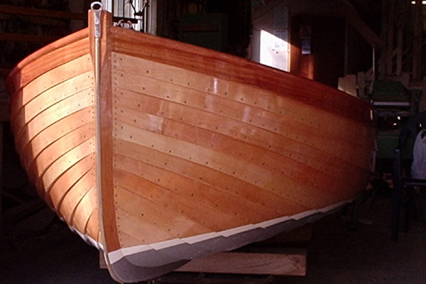 Wooden Boat Builder: Marcus Lewis