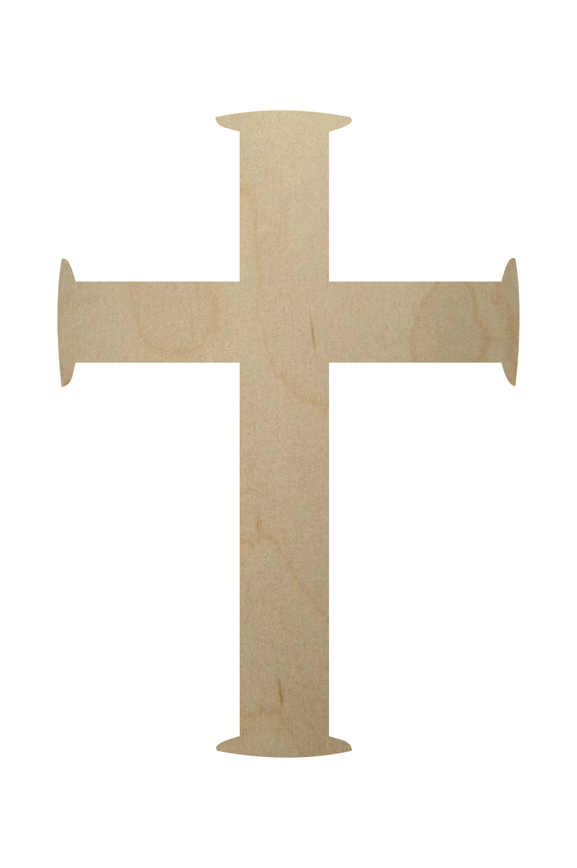 Buy Wooden Cross Shape Online At Woodencutouts Today