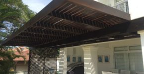 Wooden Pergolas Installation Durban
