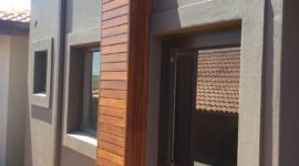 Wooden Awnings Installation