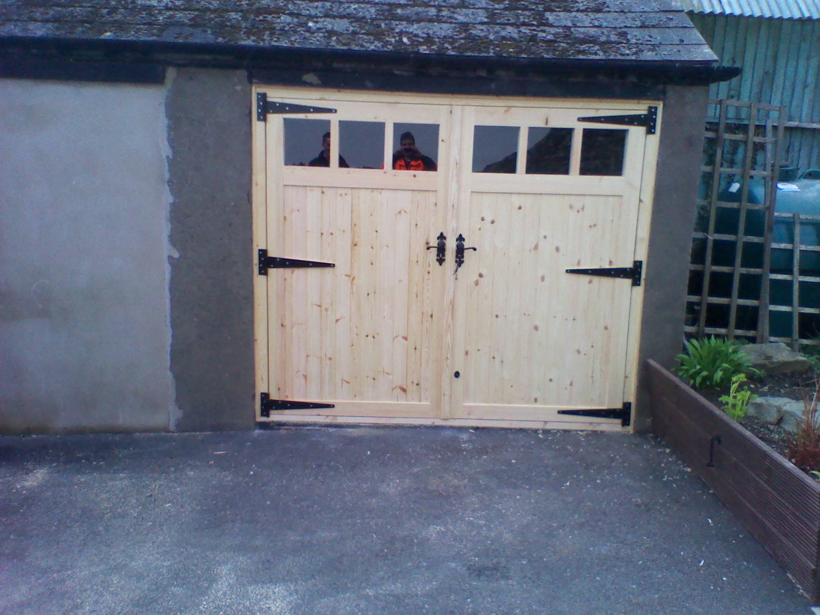 Wooden Garage Doors Wooden Gates Ireland