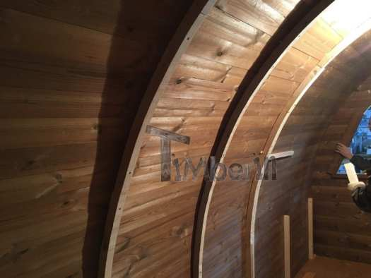 The Wider Supporting Wooden Arcs To Fit The Insulation And Wooden Interior Panels