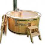Fiberglass Hot Tub With Snorkel Heater Wellness Basic