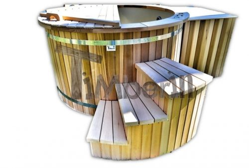 Red cedar hot tub electric