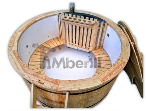 Polypropylene lined exterior Hot tub Including: Massage + 2 LED