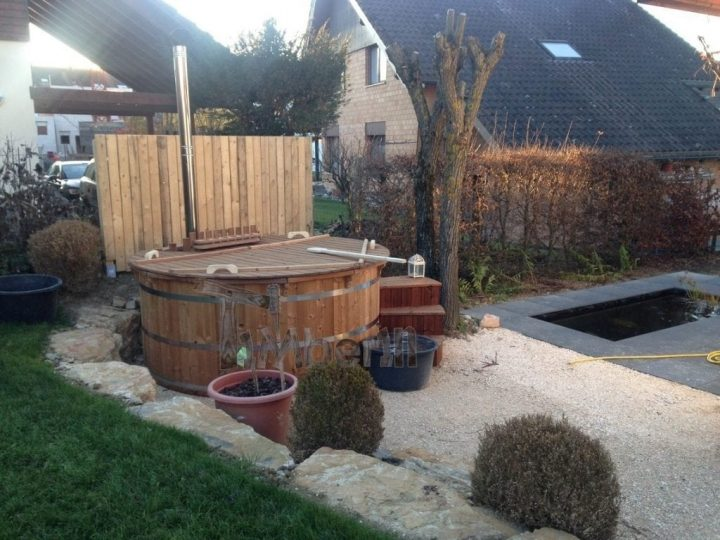 Thermowood Deluxe Hot Tub With Inside Heater Peter Rodersdorf Schweiz