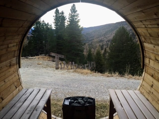 outdoor-sauna-barrel-with-panoramic-window-anthony-uk-austria-3 Outdoor sauna Barrel with panoramic window, Anthony, UK/Austria