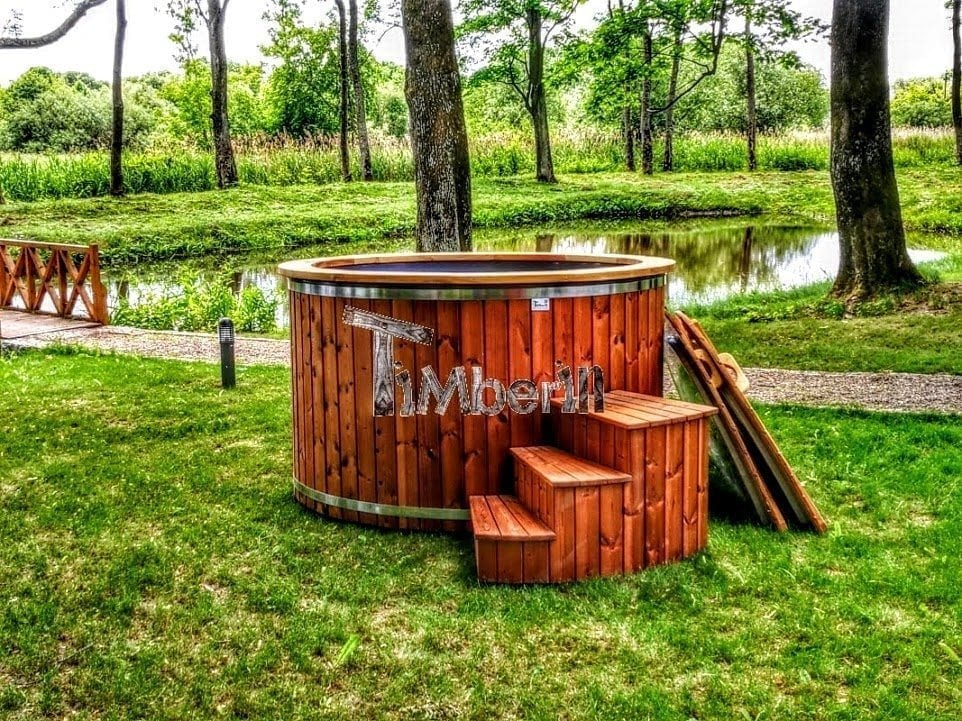 Wooden-hot-tub-electric Finished projects