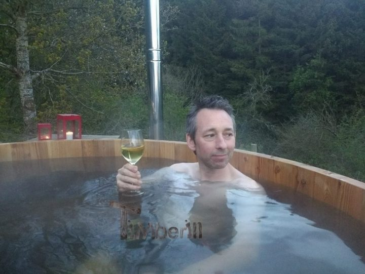 Wooden Hot Tub From Larch, John, Welshpool, UK