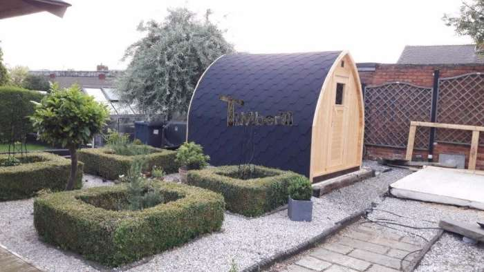Outdoor-Sauna-Igloo-Philip-Higgins-Nottingham-UK-1 Outdoor Sauna Igloo, Philip Higgins, Nottingham, UK