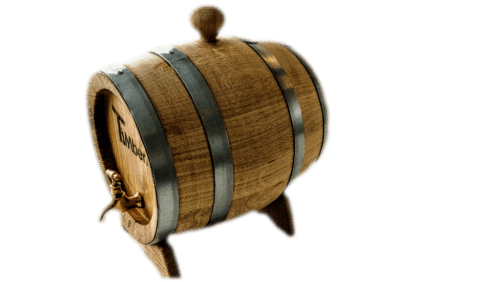 A Wooden Barrel For Wine, Whisky Or Beer