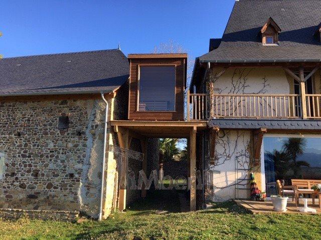 Modern-Outdoor-Garden-Sauna-Jean-Marc-Saucède-France-7 Modern Outdoor Garden Sauna, Jean Marc, Saucède, France