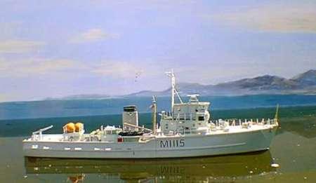 Deans Marine HMS Bronington